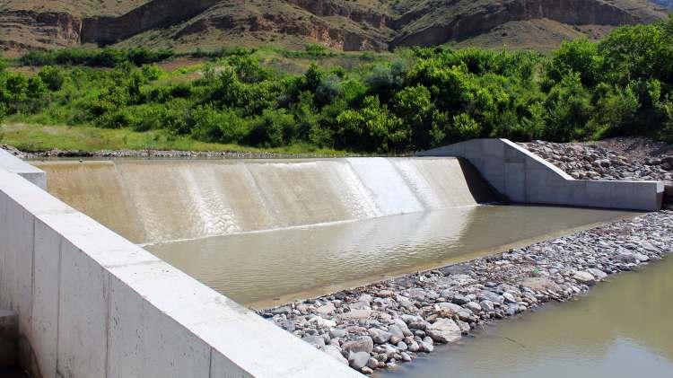Վեդիի ջրամբարի և ոռոգման համակարգի կառուցում