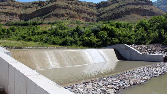 Technical Supervision over the  Construction of Vedi Reservoir and Irrigation System